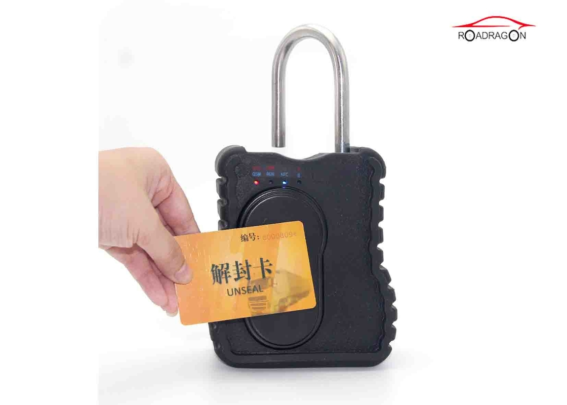 Explosionproof GPS Container Lock , Waterproof GPS Padlock Theft Prevention