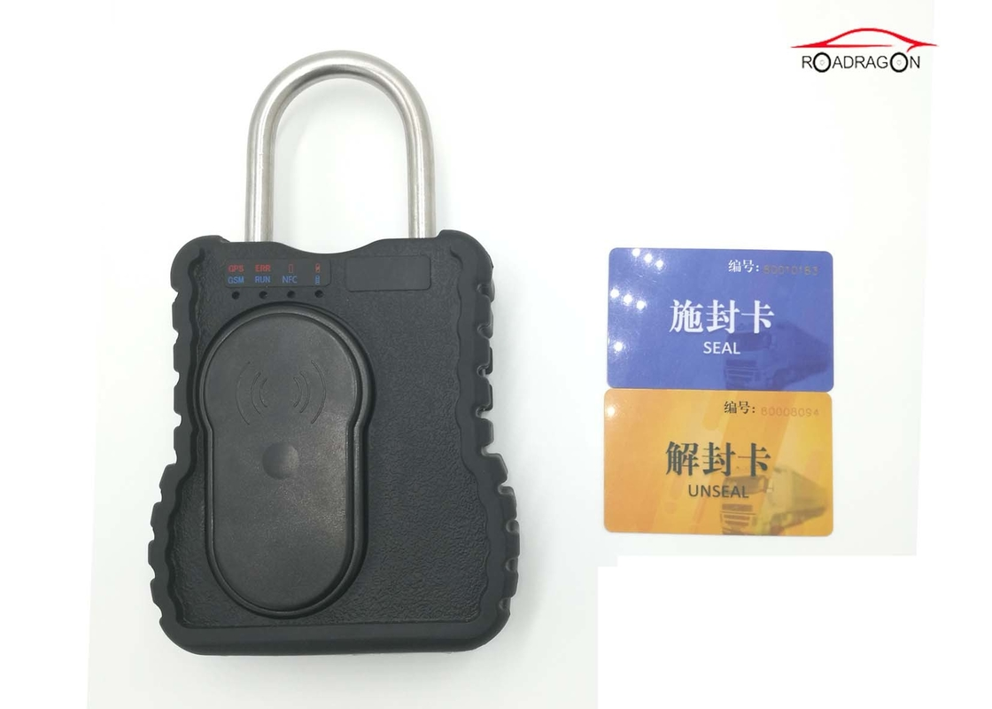 Long Standby GPS Tracking Padlock SMS Theft Prevention Violence Alarm Anti Fake
