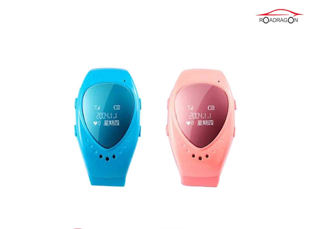 OLED SOS Call Child GPS Tracker Wrist Watch Anti Lost Manegetic Charging