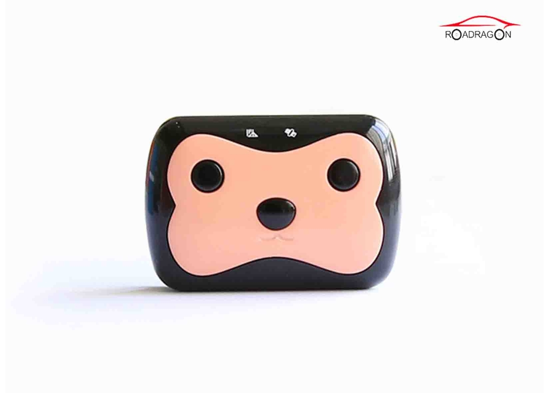 IP58 Waterproof  Pet GPS Tracker , Pet Tracking Collar LBS Location 2G GSM